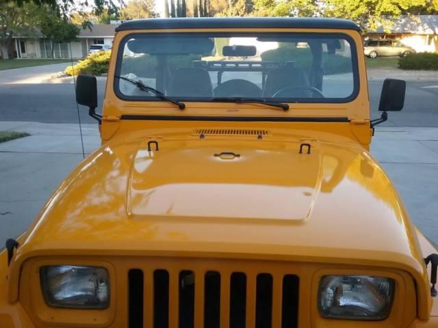 1989 Jeep Wrangler Yj Summer Bikini Top And Full Winter