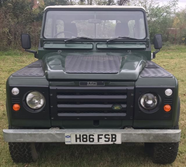 Land Rover Defender 110 For Sale: 1989 Land Rover Defender 110 Pick Up 4x4 Diesel Pickup