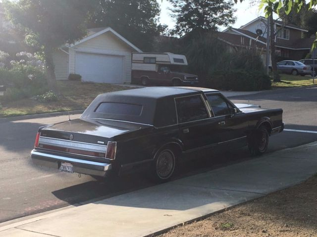 1989 Lincoln Town Car Custom 10 Quot Stretch Limo For Sale