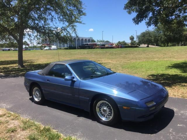 1989 Mazda Rx 7 Convertible 76k Verified Rotary Engine