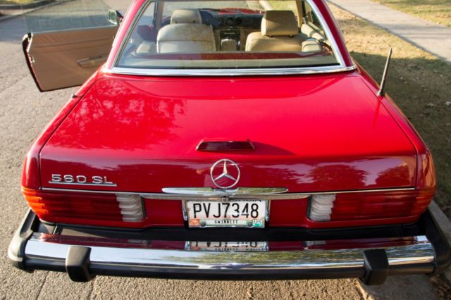 1989 mercedes 560sl hardtop convertible for sale for Hardtop convertible mercedes benz