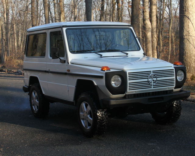 1989 mercedes benz 300gd pearl white 65k miles for sale mercedes benz g class g wagon gd300. Black Bedroom Furniture Sets. Home Design Ideas