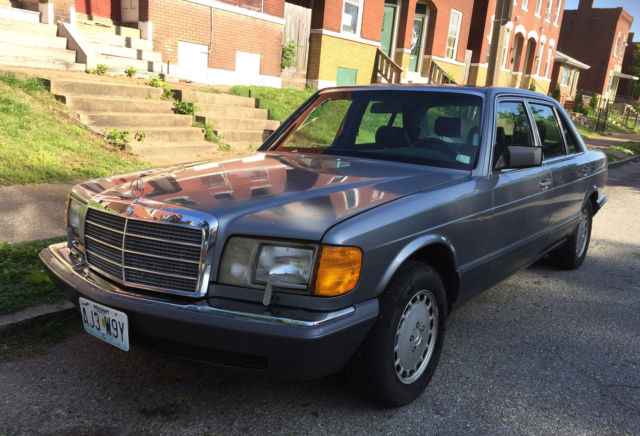 1989 mercedes benz 420 sel 99k 50 shades of grey for sale for Mercedes benz shades