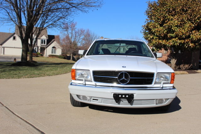 1989 mercedes benz 560 sec coupe restored and immaculate for Mercedes benz for sale in usa