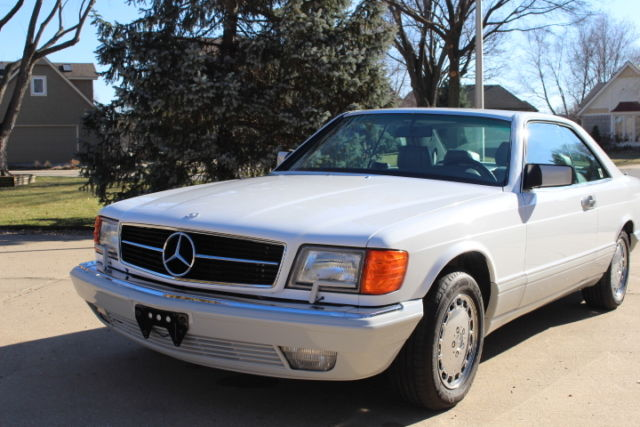 1989-Mercedes Benz-560 SEC Coupe-Restored and Immaculate