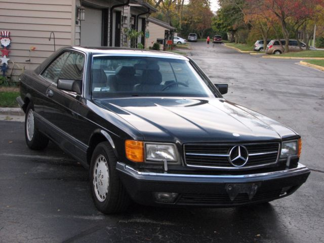 1989 mercedes benz 560sec 2 door coupe very rare well for Mercedes benz 2 door coupe for sale
