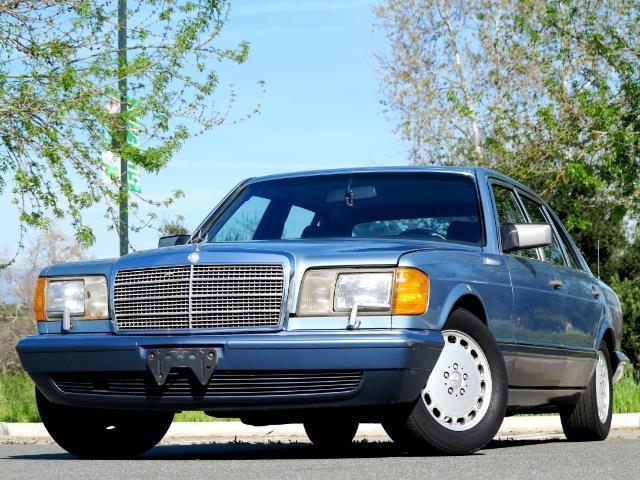 1989 mercedes benz 560sel automatic 4 door sedan 560 sel. Black Bedroom Furniture Sets. Home Design Ideas