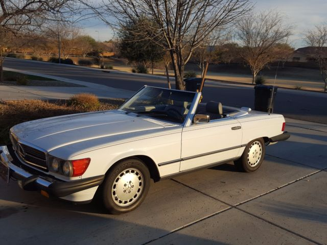 1989 Mercedes Benz 560sl Soft And Hard Top Convertible