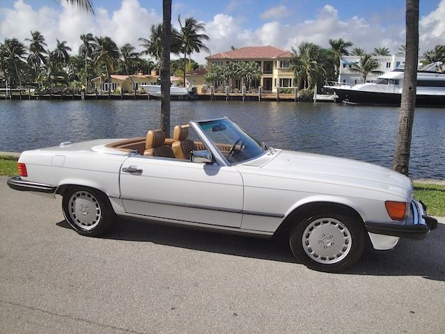 1989 Mercedes Benz 560sl Top Collectible Color Combo Year