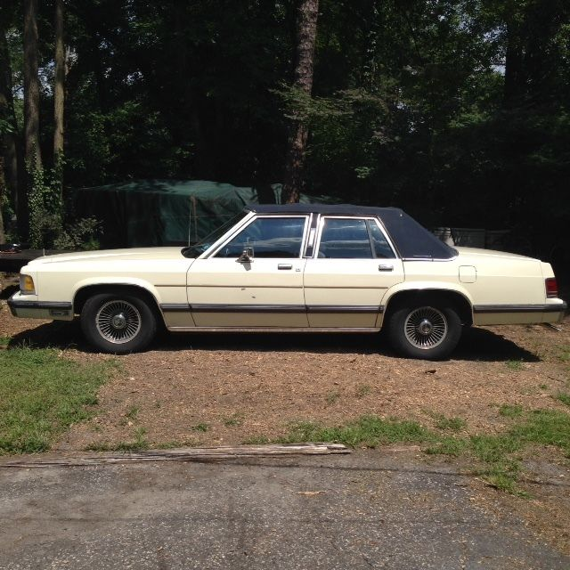 1989 mercury grand marquis ls sedan 4 door 5 0l for sale. Black Bedroom Furniture Sets. Home Design Ideas