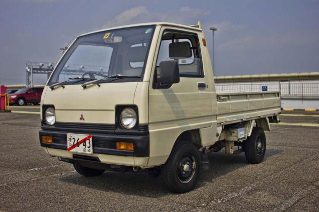 1989 mitsubishi minicab 17200km jdm kei truck free ro ro shipping for sale. Black Bedroom Furniture Sets. Home Design Ideas