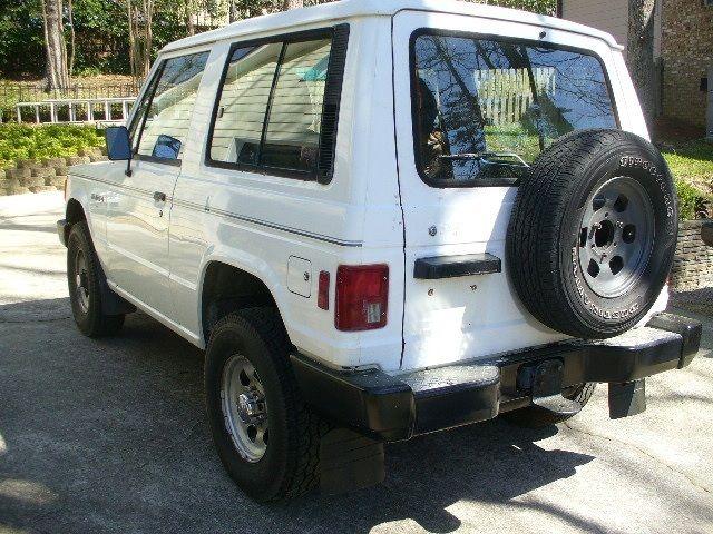1989 Mitsubishi Montero Sport 2 Door Dodge Raider For