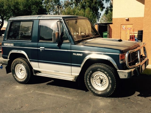 1989 mitsubishi pajero rhd turbo diesel 4x4 montero jeep cj5 fjcruser for sale mitsubishi. Black Bedroom Furniture Sets. Home Design Ideas