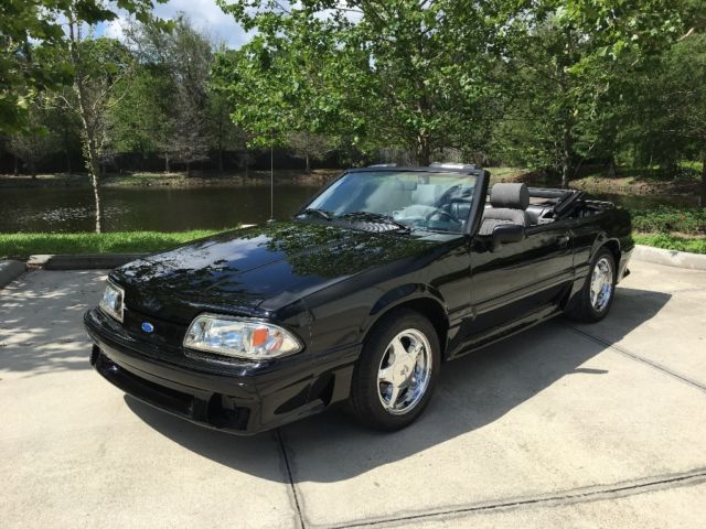 1989 mustang gt convertible 5 0 ho for sale ford mustang 1989 for sale in sarasota florida. Black Bedroom Furniture Sets. Home Design Ideas