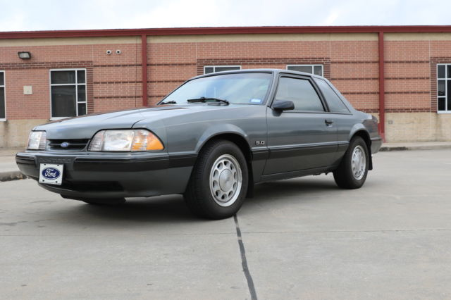 1989 Mustang LX 5 0 Coupe / Notchback - 25th Anniversary for