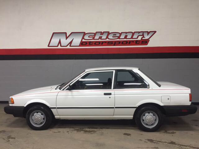 1989 Nissan Sentra XE 2dr Coupe 58,030 Miles White Coupe 1 ...