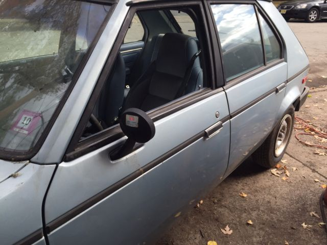 1989 Plymouth Horizon --- LOW MILEAGE--- 25,000 for sale ...