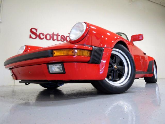 1989 Porsche Speedster 22k Miles Fresh Reconditioning