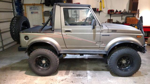 Cars For Sale Colorado Springs >> 1989 Suzuki Samurai JL with VW TDI diesel for sale - Suzuki Samurai 1989 for sale in Colorado ...