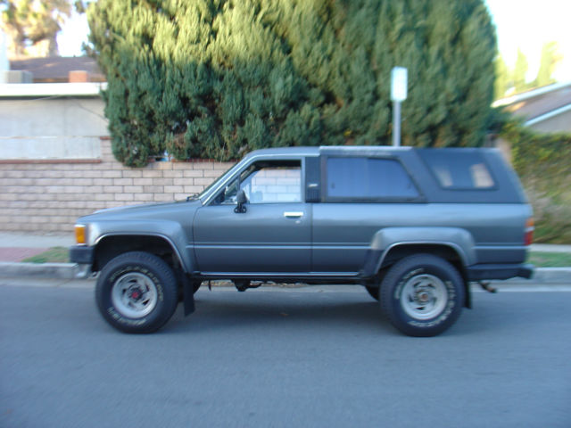 1989 Toyota 4runner Sr5 22re 4 Speed Manual 1988 1987 1986