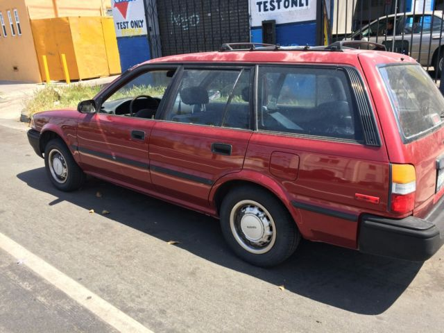 1989 toyota corolla station wagon for sale toyota corolla 1993 for sale in los angeles. Black Bedroom Furniture Sets. Home Design Ideas