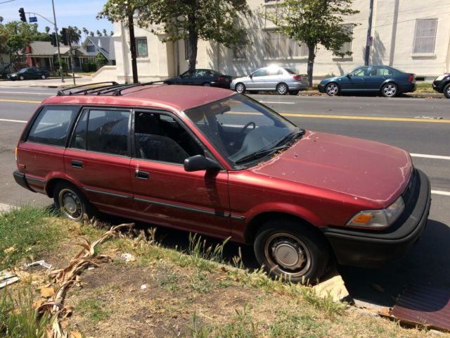 1989 toyota corolla station wagon for sale - Toyota ...