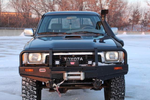 1989 Toyota Hilux Ssr Turbo Diesel 4x4 1kz Te Arb Winch
