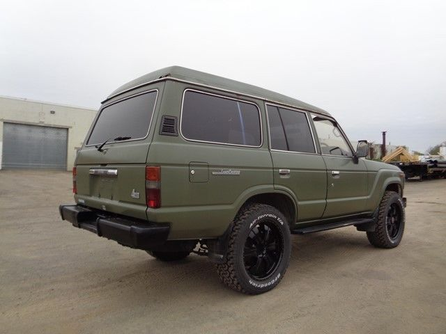1989 toyota land cruiser 60 suv 4x4 diesel low miles no reserve for sale toyota land. Black Bedroom Furniture Sets. Home Design Ideas