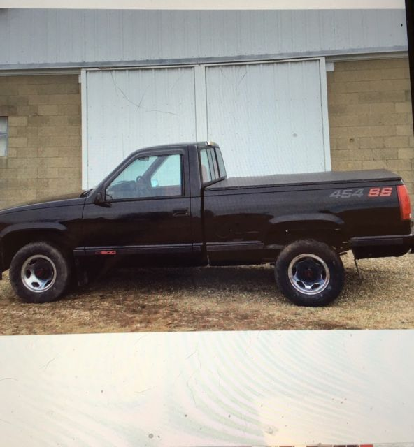 1990 454 ss chevy pickup truck for sale chevrolet c k pickup 1500 1990 for sale in mackinaw. Black Bedroom Furniture Sets. Home Design Ideas