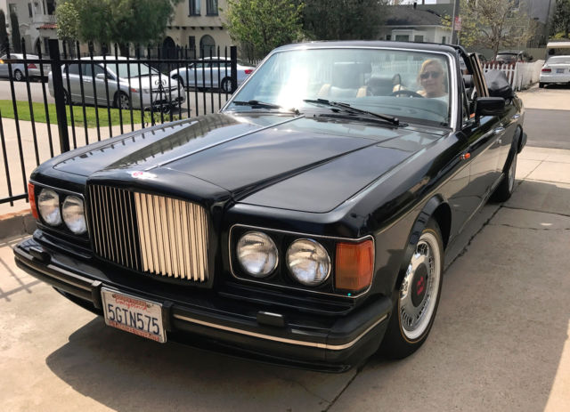 1990 bentley turbo custom four door convertible for sale bentley turbo r 1990 for sale in los. Black Bedroom Furniture Sets. Home Design Ideas
