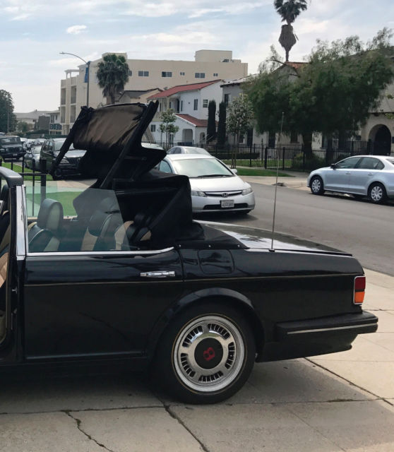 1990 Bentley Turbo Custom Four Door Convertible For Sale