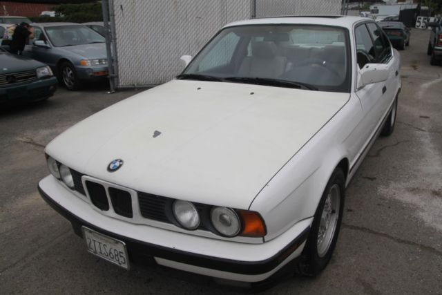 1990 bmw 535i manual 6 cylinder no reserve for sale bmw. Black Bedroom Furniture Sets. Home Design Ideas