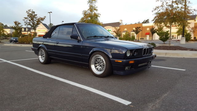 1990 bmw e30 convertible custom m50 swap turbo 600hp for sale - BMW