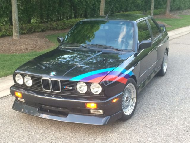 1990 bmw e30 m3 museum qaulity for sale bmw m3 1990 for sale in bloomfield hills michigan. Black Bedroom Furniture Sets. Home Design Ideas