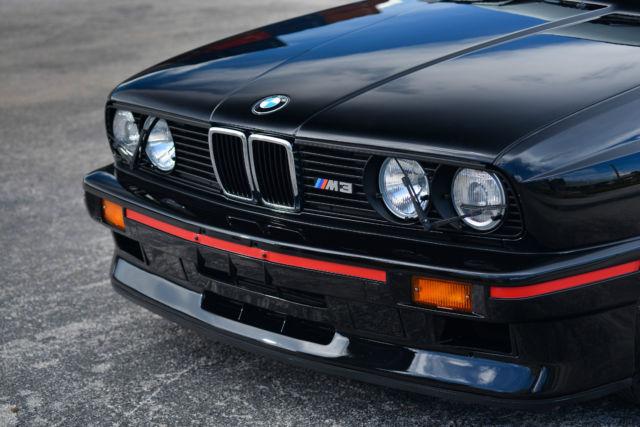 1990 Bmw E30 M3 Sport Evolution Black Anthracite 1 Of