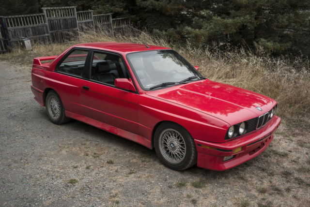 1990 Bmw M3 Brilliantrot For Sale