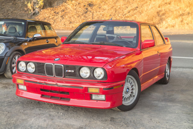 1990 bmw m3 brilliantrot for sale bmw m3 1990 for sale in pleasant hill california united states. Black Bedroom Furniture Sets. Home Design Ideas