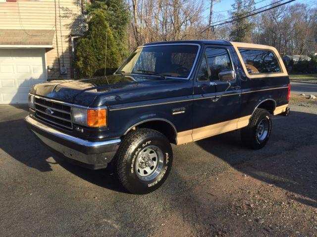 1990 bronco only 40k actual miles 5 8 liter california survivor mint for sale ford bronco. Black Bedroom Furniture Sets. Home Design Ideas