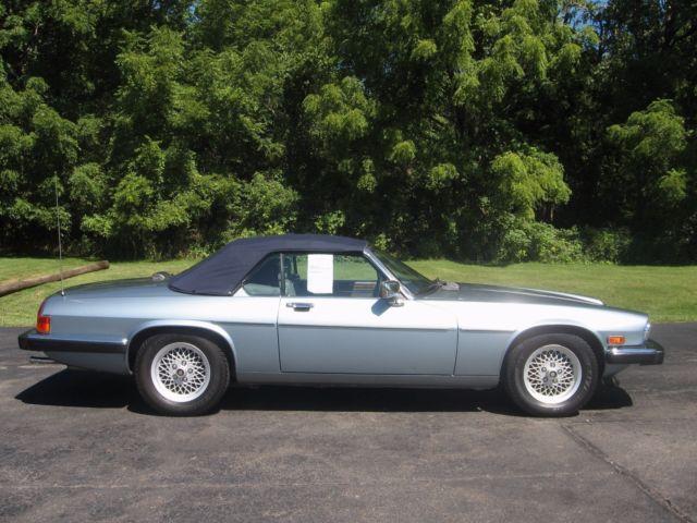 1990 bue jaguar convertable xjs v12 for sale jaguar xjs 1990 for sale in canton massachusetts. Black Bedroom Furniture Sets. Home Design Ideas