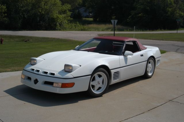 1990 callaway rpo b2k corvette convertible w twin turbo and factory aero body for sale. Black Bedroom Furniture Sets. Home Design Ideas