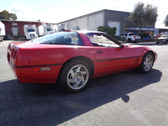 1990 chevrolet corvette original zr 1 zr1 6 speed manual. Black Bedroom Furniture Sets. Home Design Ideas