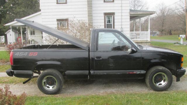 1990 chevrolet ss 454 sport pickup truck short bed c k 1500 super sport chevy for sale. Black Bedroom Furniture Sets. Home Design Ideas