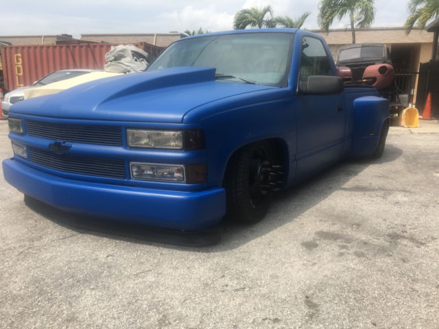 1990 chevy reg cab short bed dually on air bags lots of new parts ratrod hotrod for sale. Black Bedroom Furniture Sets. Home Design Ideas