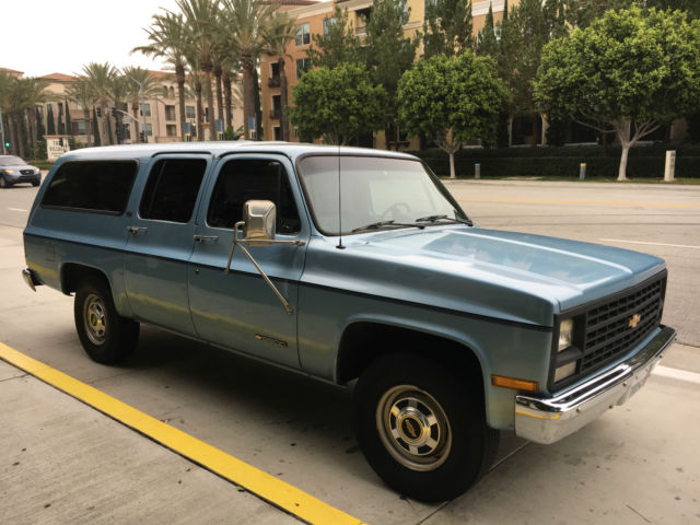 1990 chevy suburban 2500 scottdale for sale chevrolet. Black Bedroom Furniture Sets. Home Design Ideas