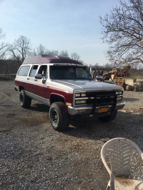 1990 chevy suburban high top conversion for sale - Chevrolet Suburban 1500 1990 for sale in Le ...