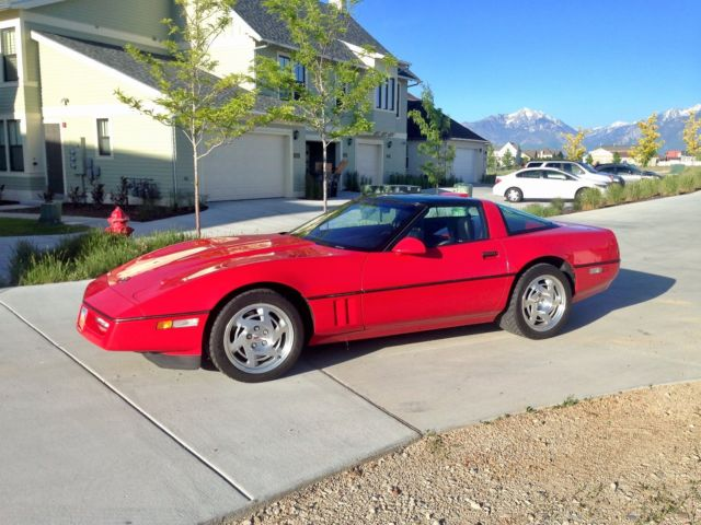 1990 corvette zr1 king of the hill for sale chevrolet. Black Bedroom Furniture Sets. Home Design Ideas
