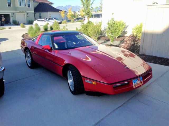1990 corvette zr1 king of the hill for sale chevrolet corvette 1990 for sale in draper utah. Black Bedroom Furniture Sets. Home Design Ideas