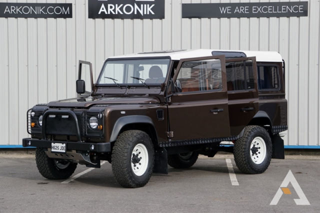 1990 defender 110 built by arkonik in england less than 3 000 miles since build for sale land. Black Bedroom Furniture Sets. Home Design Ideas