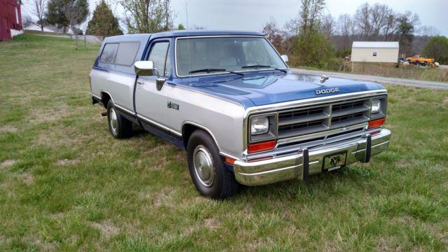 1990 dodge ram le d250 only 17 000 miles second owner rare find for sale dodge other pickups. Black Bedroom Furniture Sets. Home Design Ideas