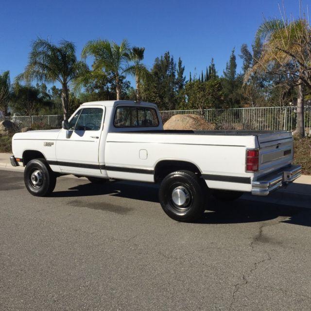 1990 dodge ram w250 12v cummins diesel 4x4 1owner low miles 1st gen for sale dodge other. Black Bedroom Furniture Sets. Home Design Ideas